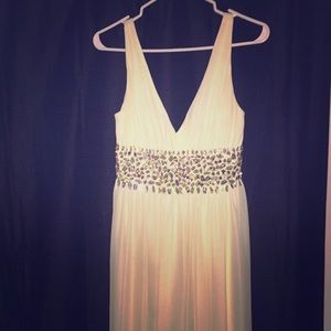 Evening gown/prom dress and shoes bundle!